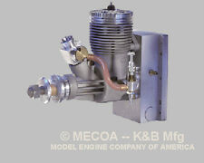 NEW IN BOX K&B 1.00 AERO ENGINE WITH MUFFLER - Made in USA