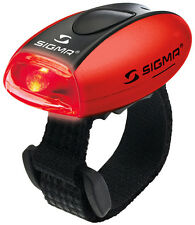 Sigma Micro R Red Rear LED Bike Saftey Light Water Resistant Contant / Flashing