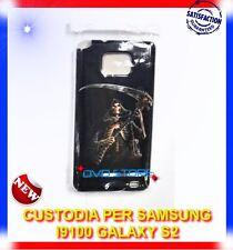 Custodia+Pellicola BACK COVER FALCE per Samsung I9100 galaxy s2 plus I9105