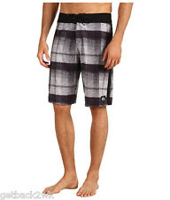 NEW* QUIKSILVER BOARDSHORTS SHORTS SWIMSUIT MEN 30 Global Suiting Black