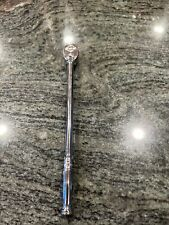 Snap On 14 Drive 9 Extra Long Handled Ratchet Tll72 Dual 80 Tech Used