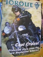 Torque Autumn 2001 #21 Official Triumph Motorcycle Magazine UK/International Edi