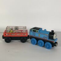 Thomas the Train Cargo Car with Party Tender Wooden Tank Engine Friends