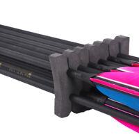 2x Archery Arrow Foam Rack Quiver Compound Longbow Separator Shelf Accessories