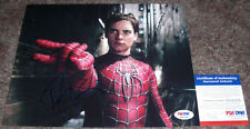 VERY TOUGH!!! Tobey Maguire Signed Spider-Man 8x10 Photo #1 PSA/DNA ITP