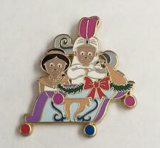 Disney It's a Small World Happy Holidays Aladdin & Jasmine Le 125 Mystery Pin