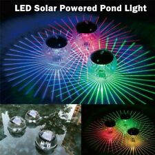Solar Floating Lamps LED Garden Waterproof Pond Swimming Pool Fountain Lights HK