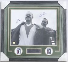 Masters Champions ARNOLD PALMER JACK NICKLAUS Signed Autographed Photo FANATICS