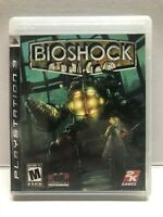 Bioshock - PS3 PlayStation 3 - Complete w/ Manual - Tested Working Free Ship