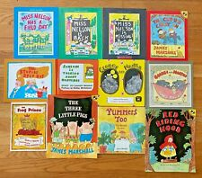 Lot 12 JAMES MARSHALL Picture Books Miss Nelson is Back George  Martha Stupids