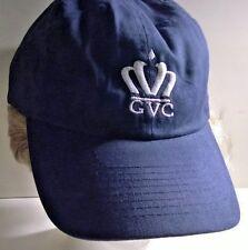 GVC -Grand Victoria Casino Logo Baseball Hat Cap- White Logo, One size