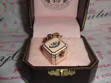 Charm for Bracelet Necklace Keychain New Juicy Couture Jewelry Box