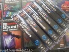 MC Die Drei 3 Fragezeichen Sammlung 4 Kassetten Auswahl aussuche siehe Liste
