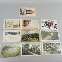 VTG Mixed Lot of 10 Holidays & Greetings Postcards early 1900s Minnesota SET 10