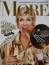 "JANE LYNCH ""GLEE""  November 2010 MORE Magazine"