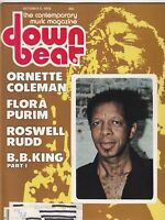 Down Beat Mag Ornette Coleman Flora Purim Roswell Rudd October 5 1978 101219nonr
