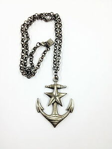Kitsch n Kouture Anchors Away Pendant Necklace on Chain