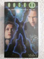 VHS-Video # PAL # Akte X # Akte 11: Patient X # deutsche Fassung # 1998