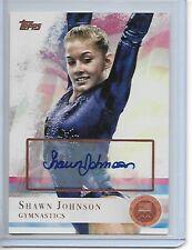 2012 Topps Olympic Bronze Auto Shawn Johnson Gymnastics DWTS /50 Autograph