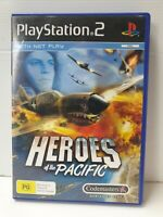 PS2 Game Heroes of the Pacific Inc Manual
