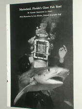 1952 MARINELAND Florida magazine article, color photos, sea life oceanarium