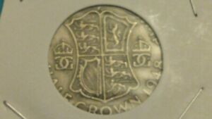 ⭐1948 GREAT BRITAIN HALF~CROWN COIN SHIPS FREE 😃