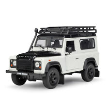 Welly 1:24 Land Rover Defender Diecast Model SUV Car White NEW IN BOX With Rack