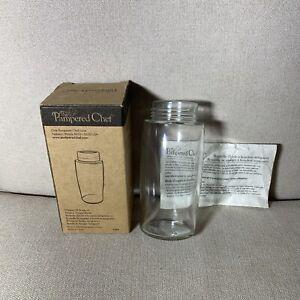 Pampered Chef Dripless Oil or Vinegar Bottle #1644 New in Opened Box