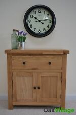 Oak Sideboard Mini / Storage Cupboard / Solid Wood / Buffet Table / New Dorset