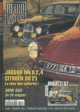 RETROVISEUR n°128 04/1999 JAGUAR MK2 2.4 DS21 TRIUMPH TR4 CG BMW 503