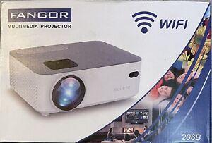 Fangor F-206B Bluetooth Mini Projector WIFI Bundle