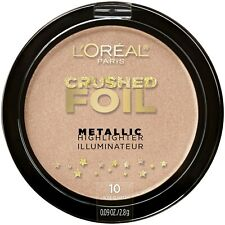 Loreal Crushed Foil Metallic Highlighter Illuminator 10 ROSE QUARTZ New sealed