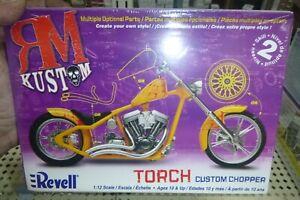 REVELL 85-7316 TORCH CHOPPER MOTORCYCLE KIT 1/12 Model Car Mountain FS