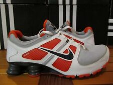 NEW Nike Shox Turbo 11 + White Orange Navy Grey 13 407266 010 si nz tl agent r4