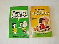 Charles Schulz Books Very Funny Charlie Brown & The Wonderful World of Peanuts
