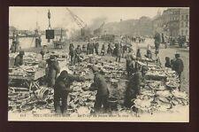 France Pas-de-Calais BOULOGNE-SUR-MER Sorting Fish busy dock scene c1900s? PPC