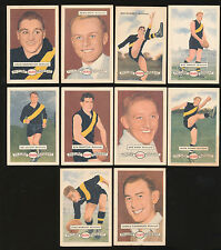 1958 Atlantic Petrol Richmond Team Set 10 Cards Picture Pageant Card