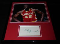 Nate Thurmond Signed Framed 11x14 Photo Display JSA Cavaliers