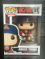 Pop! Rocks: AC/DC Angus Young Red Jacket #91 Funko Pop Vinyl Figurine