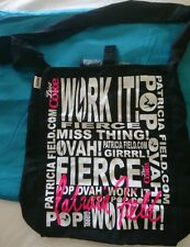 """LIMITED EDITION Patricia Field Diet Coke Small 10.5"""" x 13"""" Tote Shopping Bag"""