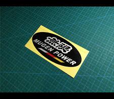 無限 MUGEN POWER Oval CIVIC TYPE R Honda JDM Reflective car decal Sticker #003