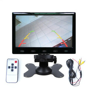 """HD 7"""" LCD Dash Monitor Screen 8mm Super Thin for Truck Car Camera Parking System"""