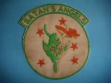 VIETNAM WAR PATCH, USAF 433rd TACTICAL FIGHTER SQUADRON SATAN'S ANGELS