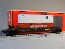 LIONEL BNSF MAXI STACK CAR O GAUGE 237342 train removable containers 6-85223 NEW