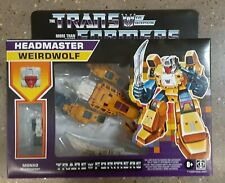RETRO Transformers The Headmasters Weirdwolf 🔥🔥  Action Figure 🆓️ SHIPPING