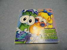 Junior & Laura Share the year together hard cover and pages children book