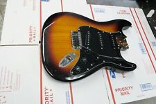 Fender Squier Stratocaster LOADED BODY Strat - Cherry Sunburst