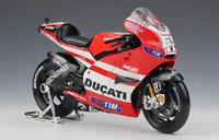 Maisto 1:10 2011 Ducati Desmosedici MotoGP Nicky Hayden Motorcycle Bike Model 69