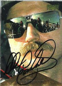 DALE EARNHARDT SR  -  Autographed [h5]  1996 Pinnacle  Card #3