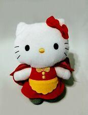 Hello Kitty Little Red Riding Hood Plush